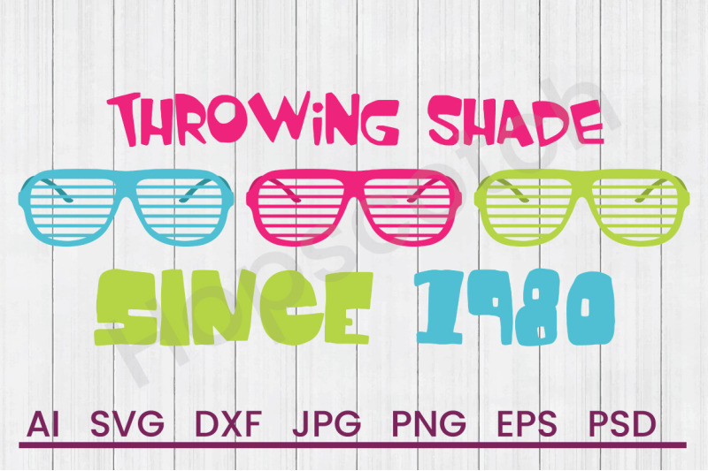 throwing-shade-svg-file-dxf-file