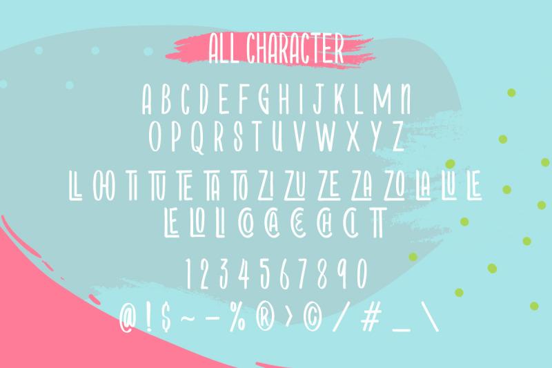 starblock-layered-font