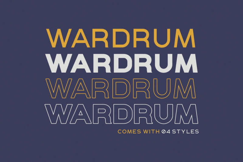 wardrum-expanded-sans