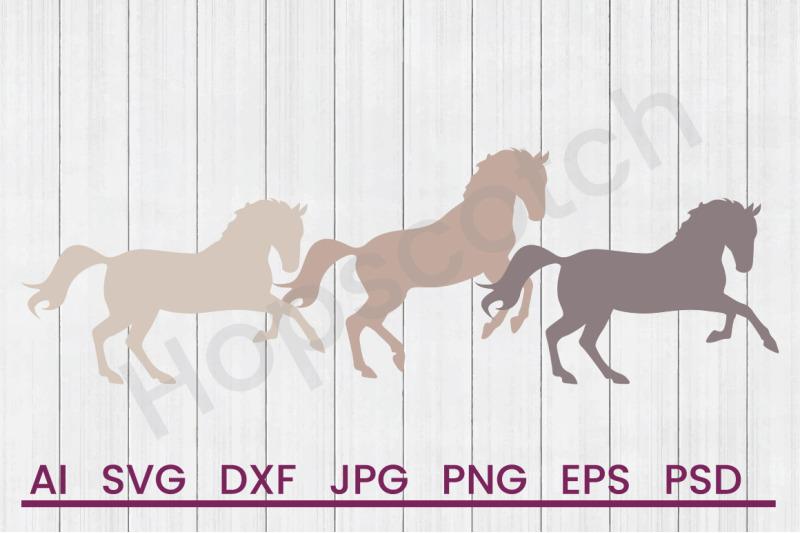 wild-horses-svg-file-dxf-file