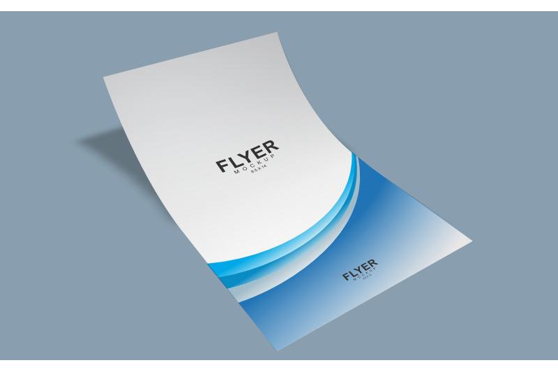 Free Legal Size Flyer Mockup (8.5 x 14 Inch) (PSD Mockups)