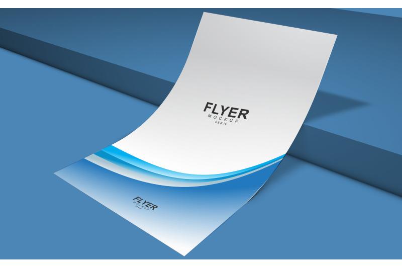 Free Flyer Mockup (PSD Mockups)