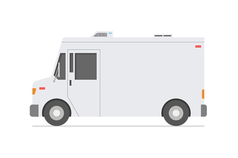 white-retro-truck