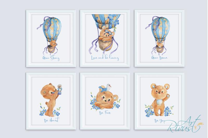 printable-nursery-art-posters-teddy-bear-hot-air-balloon