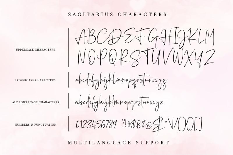 sagitarius-font