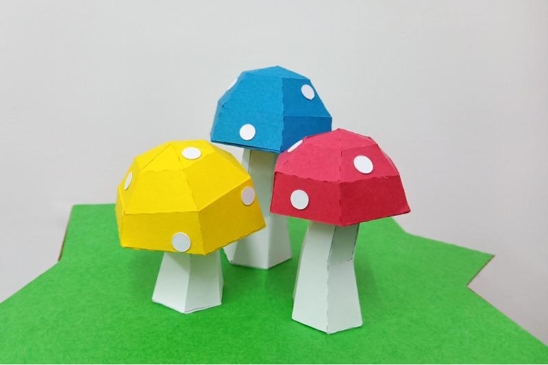 diy-mushroom-island-3d-papercraft