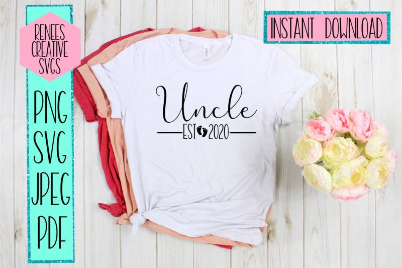 uncle-est-2020-new-uncle-svg-svg-cut-file