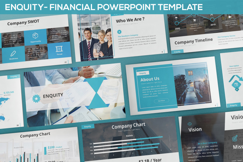 enquity-financial-powerpoint-template
