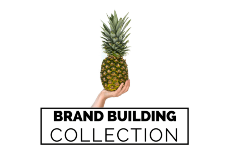 Free Brand Building Collection - Pineapple (PSD Mockups)