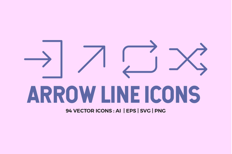 arrow-line-icons-pack