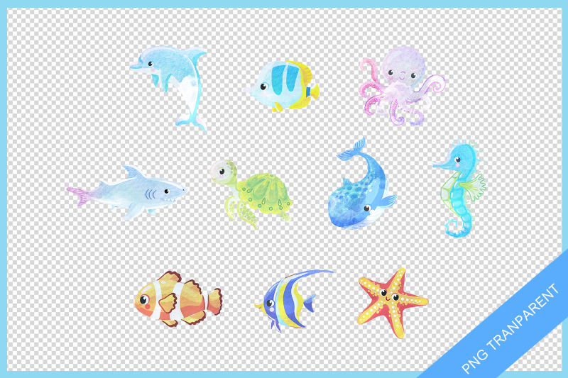 under-sea-water-color-pack