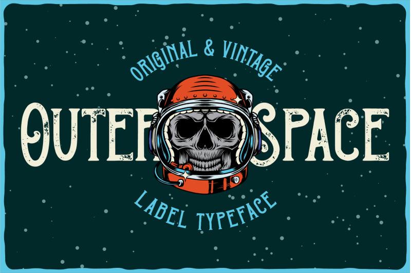 outer-space-font-bonus