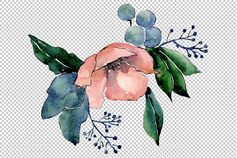 bouquet-of-flowers-hugs-watercolor-png