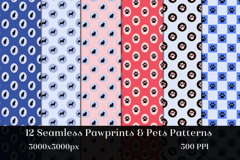seamless-pawprints-amp-pets-patterns-12-images