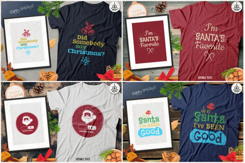 christmas-t-shirt-designs-retro-bundle-xmas-tees-svg-file