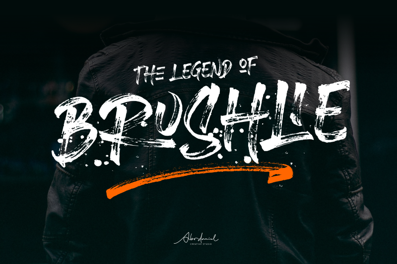 brushlie-urban-typeface