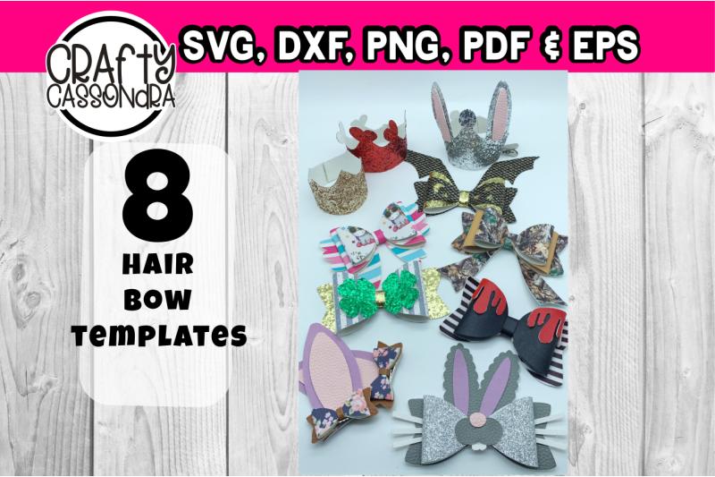 32-hair-bow-templates