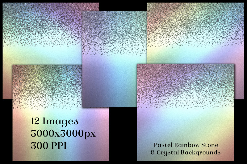 pastel-rainbow-stone-and-crystal-backgrounds-12-images