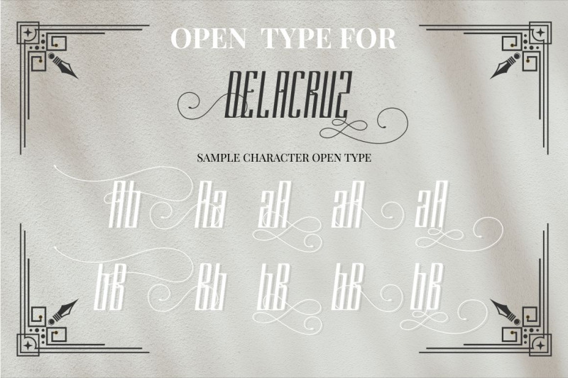 delacruz-typeface
