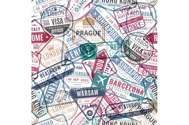 travel-stamp-pattern-vintage-traveler-passport-airport-visa-arrived-s