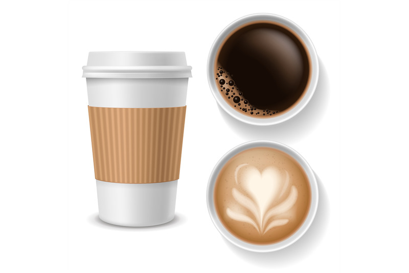 takeaway-coffee-cups-top-view-beverages-in-paper-white-brown-coffee