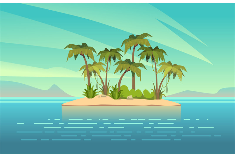 ocean-island-cartoon-tropical-island-with-palm-trees-summer-landscape