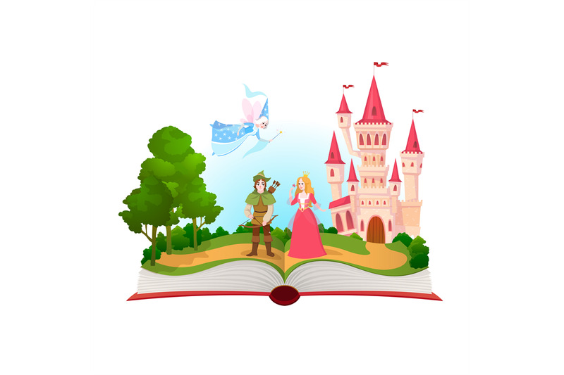 fairy-tales-book-fantasy-tale-characters-magic-life-library-open-bo