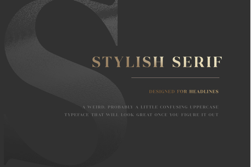 commodus-all-caps-serif-typeface