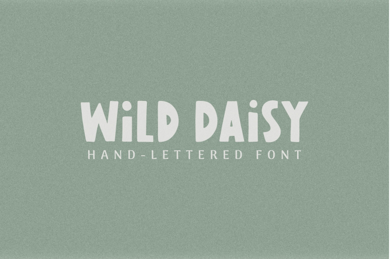 wild-daisy-hand-lettered-font