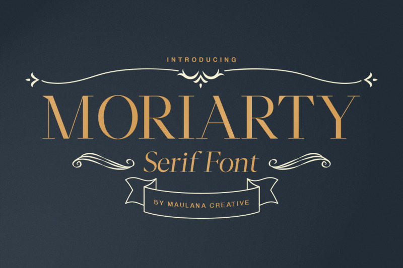 moriarty-serif-font
