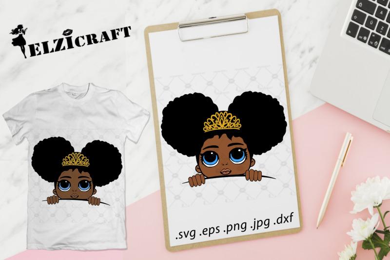 afro-princess-peeking-svg-cut-file
