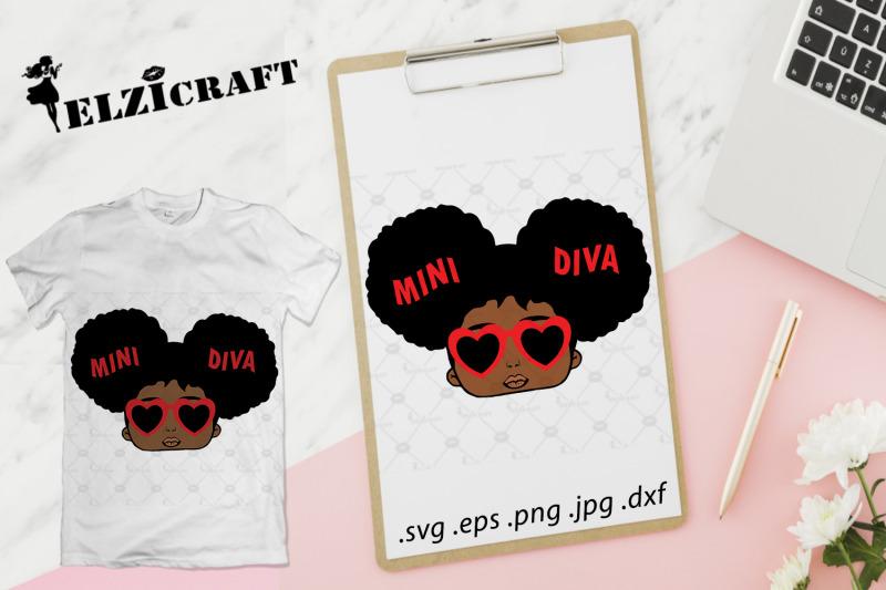 afro-girl-mini-diva-svg-cut-file