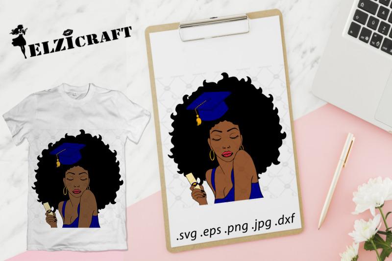 graduated-afro-woman-2019-svg-cut-file