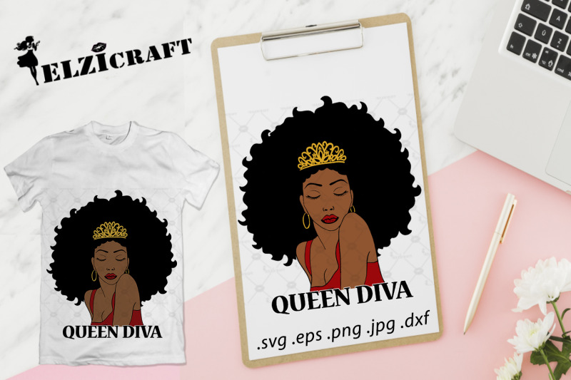 afro-woman-queen-diva-svg-cut-file