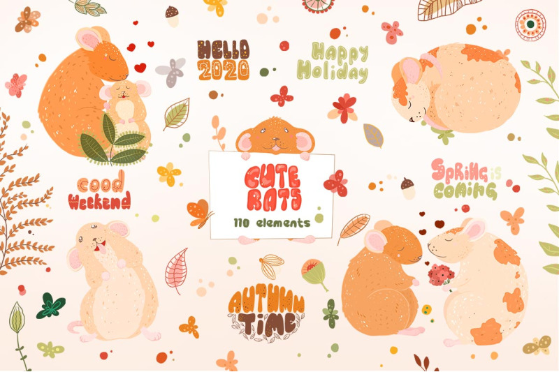 cute-rats-graphic-clipart