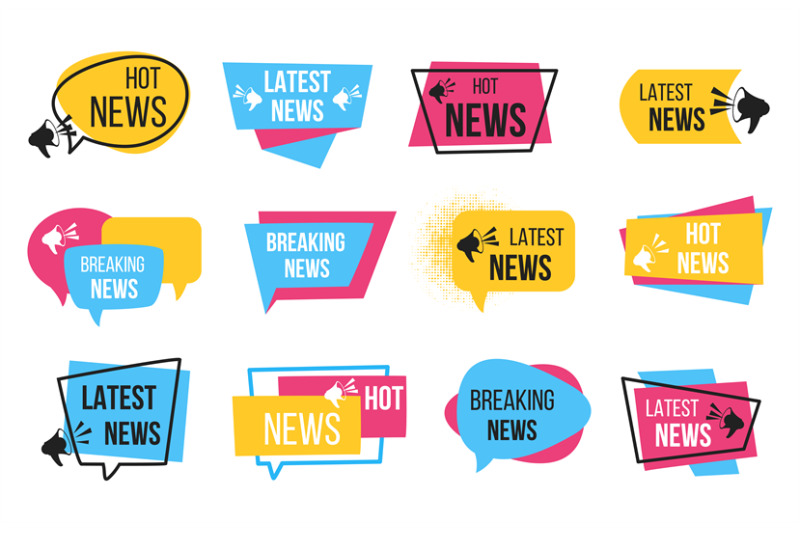 news-badge-promotion-stickers-with-megaphone-and-text-bulb-breaking