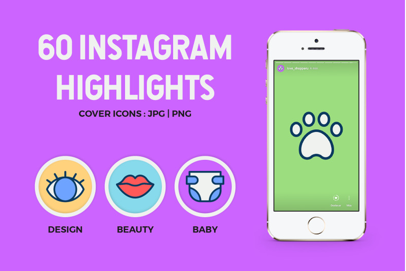 60-instagram-icons-highlights