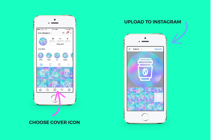 60-holographic-instagram-covers