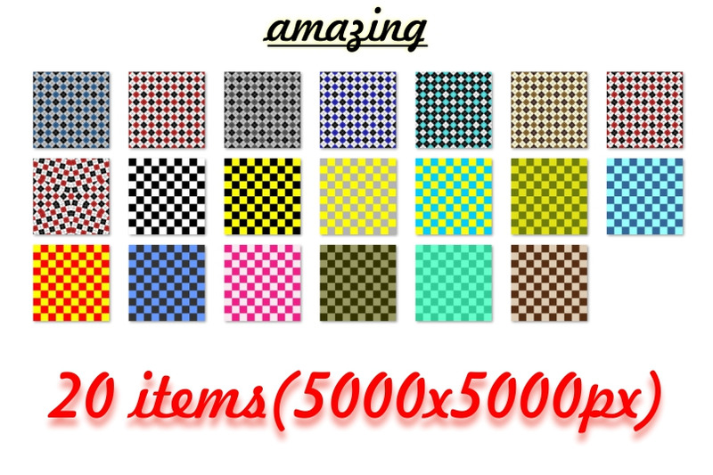 color-checkered-background