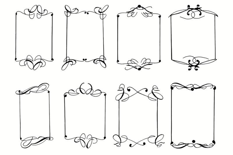 8-hand-drawn-frames-cliparts
