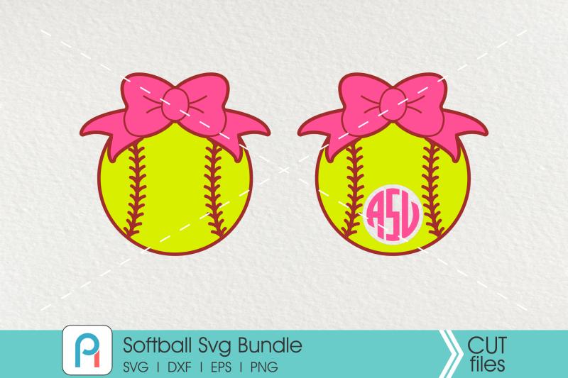 softball-svg-softball-monogram-svg-softball-clip-art