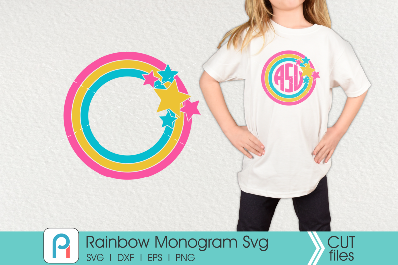 rainbow-monogram-svg-rainbow-svg-rainbow-frame-svg