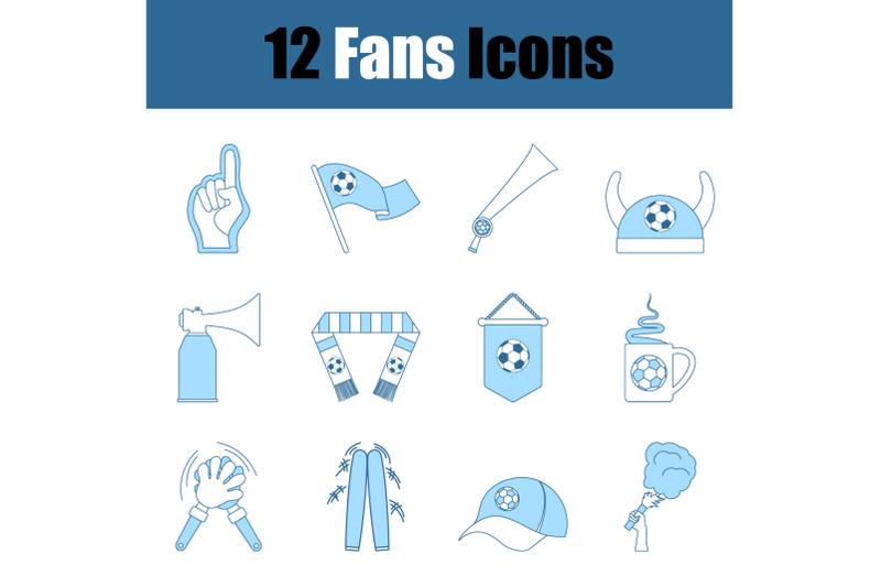 fans-icon-set