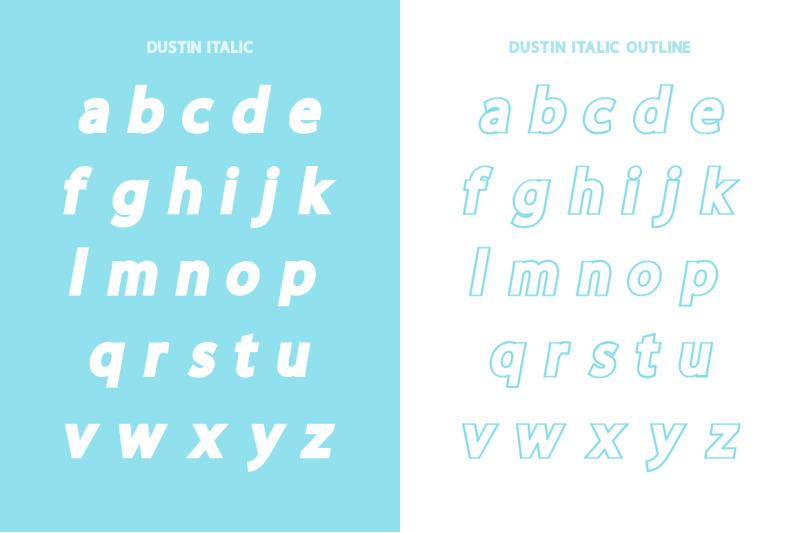 dustin-font-family