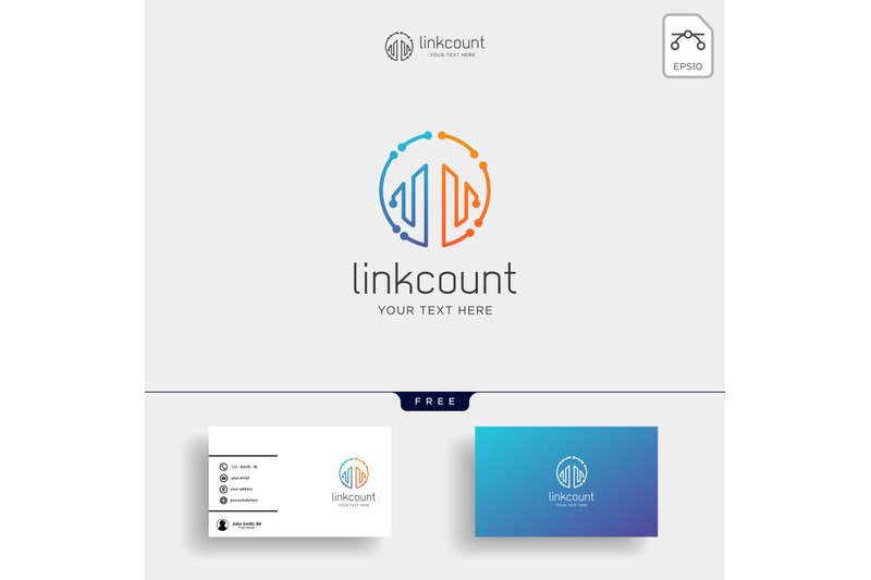 accounting-finance-creative-logo-template-vector-isolated