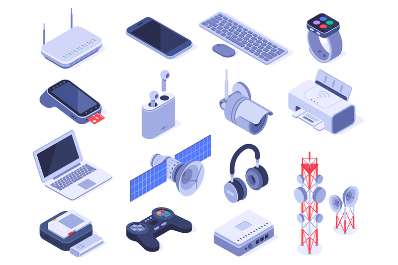 isometric-wireless-devices-computer-connect-gadgets-wireless-connect