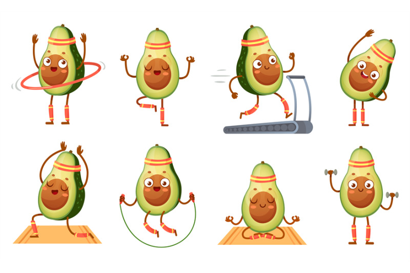 cartoon-avocado-character-fitness-funny-avocados-in-yoga-poses-gym-c