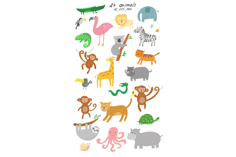 jungle-animals-clip-art