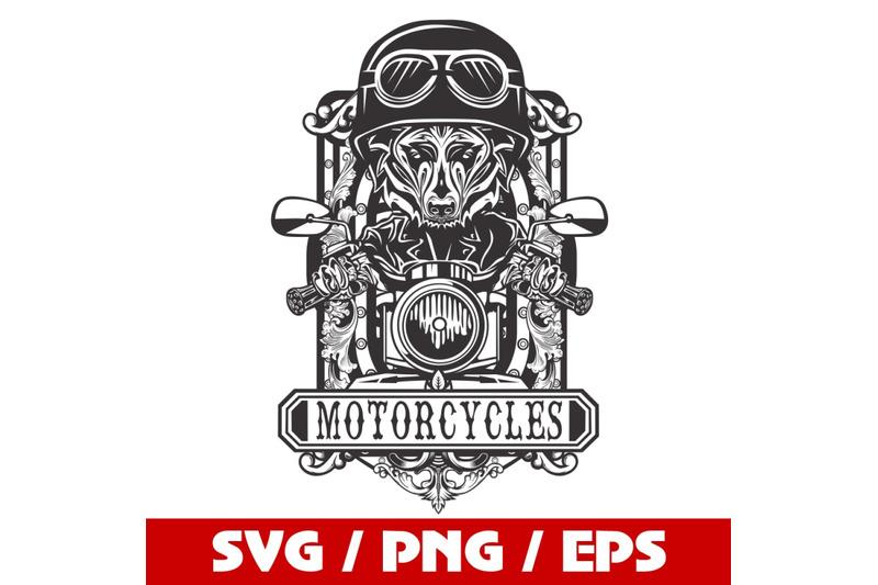 motorcycles-svg-biker-svg-badge-svg-cricut-cut-files-clipart