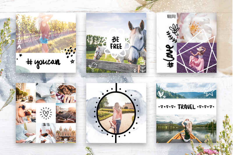 instagram-watercolor-posts-pack-2